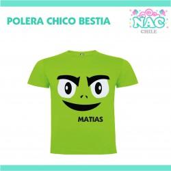 Polera Chico Bestia Jovenes...