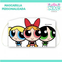Mascarilla Chicas Super...