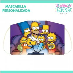 Mascarilla Los Simpsons...