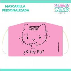 Mascarilla Kitty Pa Niños...