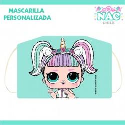 Mascarilla LOL Unicornio...