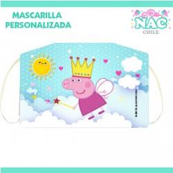 Mascarilla Peppa Pig...