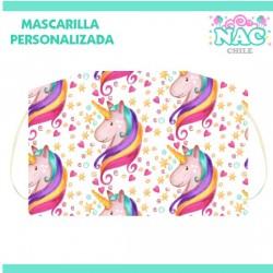 Mascarilla  Unicornio...