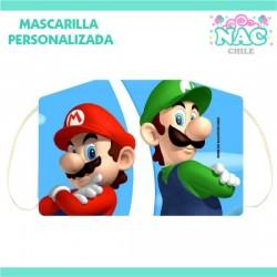 Mascarilla Mario Bros Y...