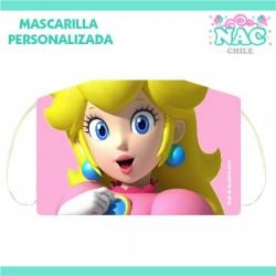 Mascarilla Princesa Peach...