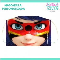 Mascarilla Miraculous -...