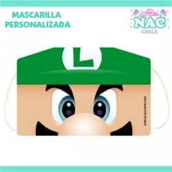 Mascarilla Luigi Estampada...