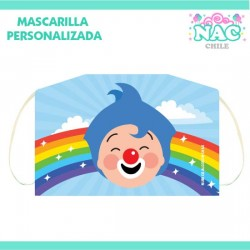 Mascarilla Payaso Plim Plim...