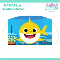 Mascarilla Baby Shark...