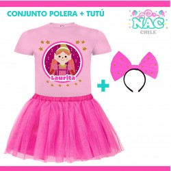 Conjunto Polera + Falda...