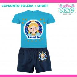 Conjunto Polera + Short Sol...