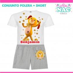 Conjunto Polera + Short...