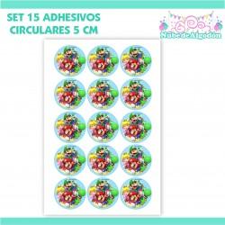 15 Adhesivos Decorativos 5...