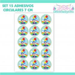 15 Adhesivos Decorativos 7...