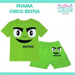 Pijama Chico Bestia Jovenes...