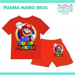 Pijama Super Mario Bros...