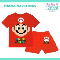 Pijama Mario Bros Cara...