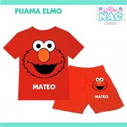 Pijama Elmo Plaza Sesamo...