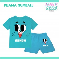 Pijama Gumball...