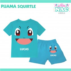 Pijama Squirtle Pokemon...
