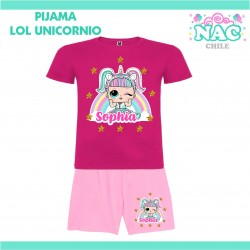 Pijama LOL Unicornio...