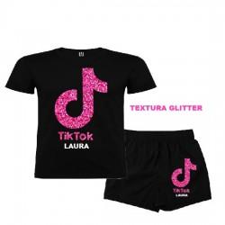 Pijama Tik Tok Glitter...