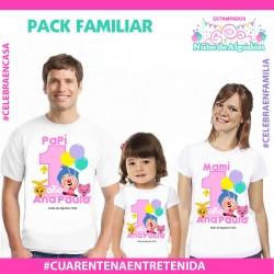 Pack Poleras Familiares...