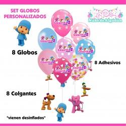 Set Globos Cumpleaños...