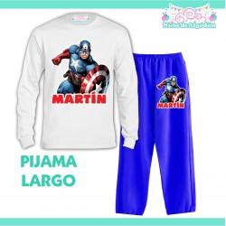 Pijama Capitán América...