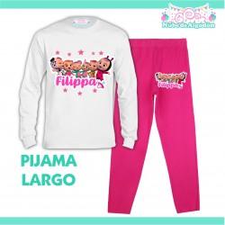 Pijama Bebes Llorones Largo...