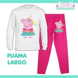 Pijama Peppa Pig Unicornio...