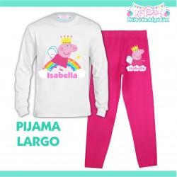 Pijama Peppa Pig Hada Largo...