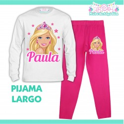 Pijama Barbie Largo Niño...