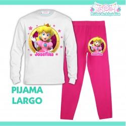 Pijama Princesa Peach Largo...