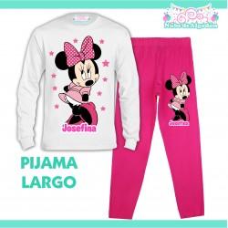 Pijama Minnie Mouse Largo...