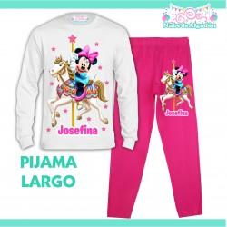 Pijama Minnie Mouse...