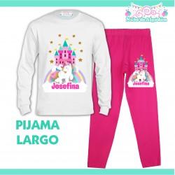 Pijama Unicornio Largo Niño...