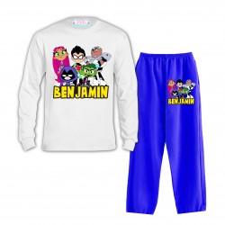 Pijama Jovenes Titanes...