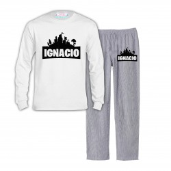 Pijama Fortnite Largo Niño...