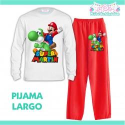 Pijama Mario Bros y Yoshi...