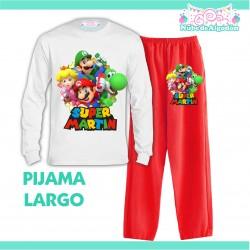 Pijama Mario Luigi Peach...