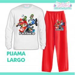 Pijama Mario Luigi Kart...