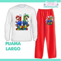 Pijama Mario Luigi Bros...