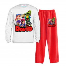 Pijama Brawl Star Largo...