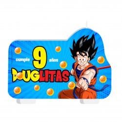 Vela Torta Dragon Ball Goku...