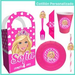 Cotillón personalizado Barbie