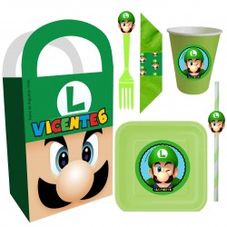 Luigi Mario Bross Temática...