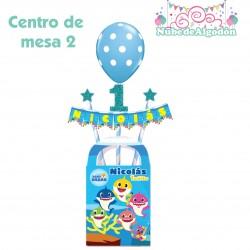 Centro de Mesa 2 Cumpleaños...