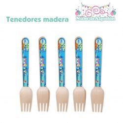Tenedores Bambú Cumpleaños...