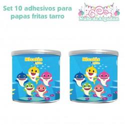 Set Adhesivos Papas Fritas...